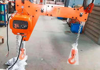 China New Electric Chain Hoist 250KG European Type with Double Hook Insulation Grade F for Industrial Lifting company