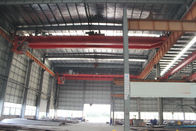 China QD25t - 5t - 22m Double Girder Overhesd Cranes For Transporting Loads factory