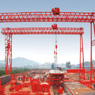 China QM Truss Girder Double Beam Overhead Gantry Electric Rail Mounted / 40T- 42M - 20M / factory