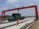 China MH15t - 25m - 15m Railway Yard Single Girder Gantry Crane Rail Mounted Gantry Crane factory