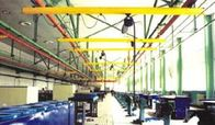 China Single Girder Suspension Light Crane Systems With Double Beam , Telescopic Beam factory