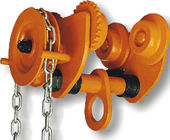 China GCL 610 Geared Trolley of Manual Chain Hoist For Shipyards To Install Machines , Lifting Good factory