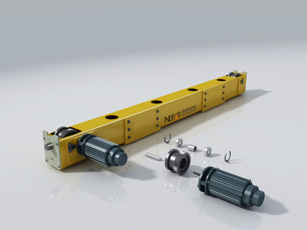 Jib Replacement Parts : Electric double girder overhead crane end carriage