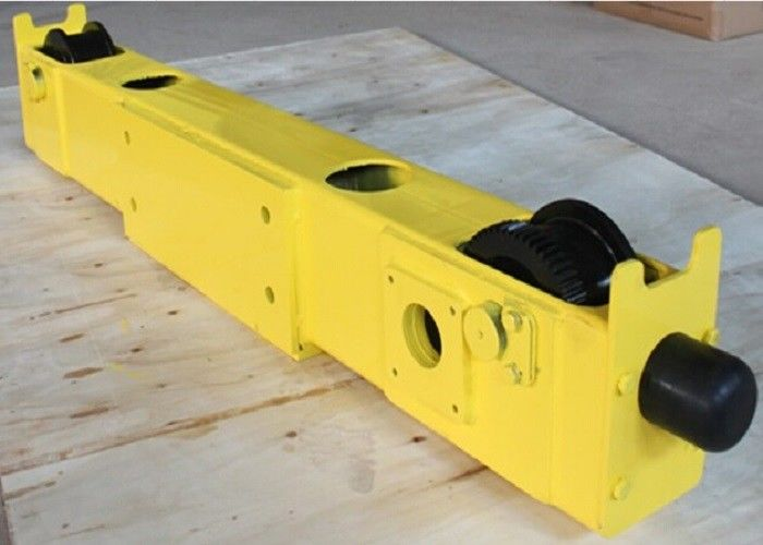 Hoist crane parts/Open Gear Single Girder Overhead Crane End Carriage