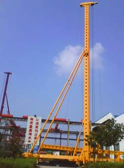 DZJ-60 Vibration Pipe-Sunk Piles Hammer Pile Driver For Building