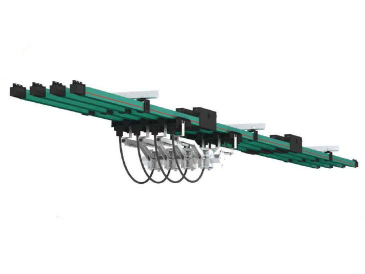 Overhead Crane Busbar System : Deliver power single poles bus bar conductor system