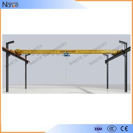 China Crab Framed Electric Single Girder Overhead Cranes For General Engineering Application distributor