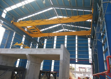 China LH 5T12M Double Girder Manual Overhead Crane For Workshop / Warehouse / Station distributor