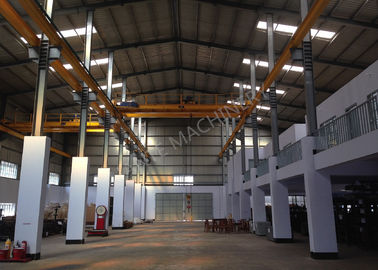 China Factories / Material Stocks LH Electric Hoist Type Overhead Crane Double Girder distributor