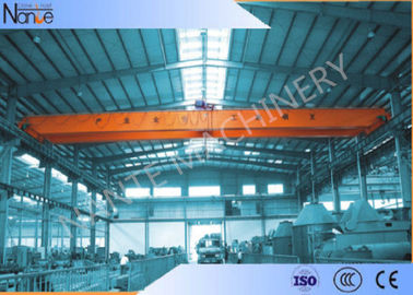 China Light Duty Double Beam Bridge Crane For Repair Shops / Factory / Warehouse distributor