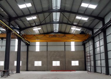 China QD 16T-22.5m Double Girder Overhead Cranes  for  Factories / Material Stocks/ Workshop distributor