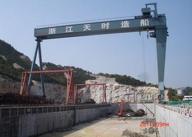 China MDG50t - 40m - 20m Yard L - Shape Gantry Crane With A Running Surface Plate distributor