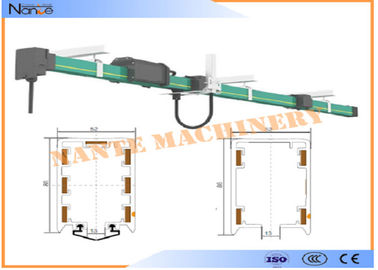 China PVC Housing Crane Parts HFP52 Power Rail Enclosed Conductor System distributor