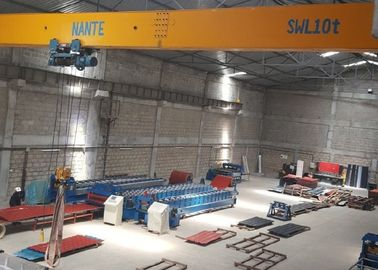 China Modular Design Electric Single Girder Bridge Crane Traveling Type Easy To Operate distributor