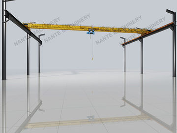 China Light duty electric Single girder overhead cranes travelling crane with 10 T load capacity distributor