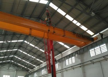 China Double girder overhead crane- LH-10t-17.5m-9m for Cement plant distributor