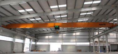 China 5 T SA2.5 Single Girder Overhead Cranes Soft Start Gear Motor Light Work Duty factory