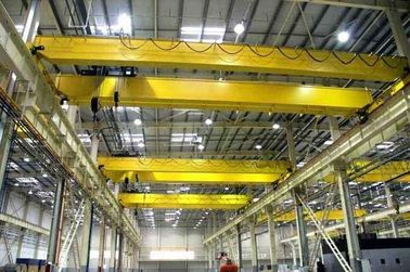 China 20 T 22m 12m Double Girder Overhead Cranes Compact Design And Optimal Space Utilization distributor