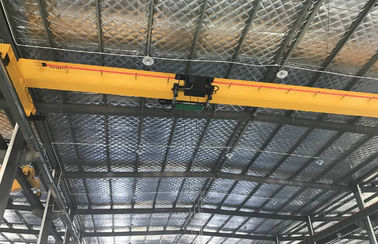 China Heavy Duty Single Beam Overhead Crane to Heavy Machine for Shops , Paper Mills factory