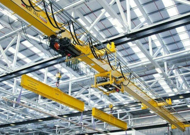 China Heavy Duty Single Beam Overhead Crane To Heavy Machine Shops , Paper Mills distributor