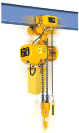China 5 Ton Electric Chain Fall Hoist EH - C Type With Suspension Hook And Trolley distributor