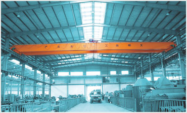 China Double Girder Overhead Crane With 10t Lifting Load Modular Design company