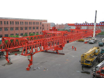 China Steel Launching Gantry Crane for Building High Rise Constructions with 320 ton capacity and 55m span distributor