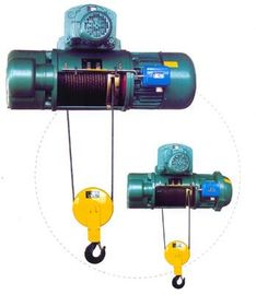 China Transfer Cars Electric Wire Rope Hoists with Lifting Capacity 0.5~50ton CD, MD Type factory