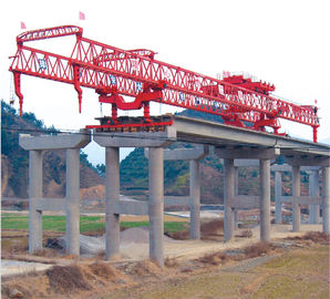 China Launching Gantry Crane with Varied Launching Capacities and Heights distributor