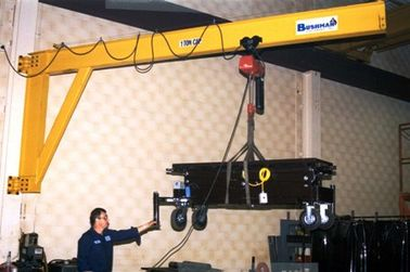 China Precision Wall Mounted Jib Crane for Enclosed Building / Plant Room Maintenance distributor