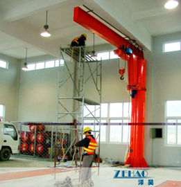 China ISO Approval Slewing Workstation Jib Boom Crane For Plant Building Maintenance distributor