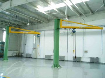 China Workstations Jib Cranes Designed for Marine Loading / Building Maintenance factory