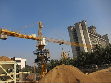 China TC5506 Jib Tower Cranes With Length of 55m And The Height Of 45m distributor