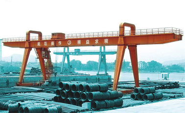 China Steel Inventory Yard a-Shape 100t Large Gantry Crane distributor