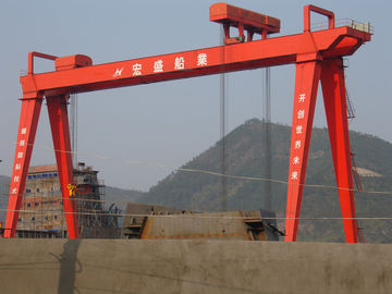 China Lifting Motor Goliath Shipyard Cranes For Building Vessels distributor
