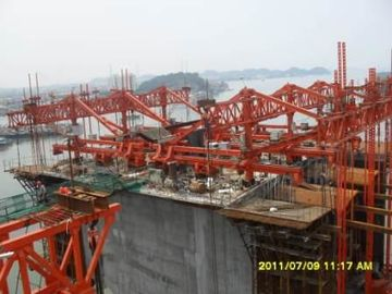 China OEM High Load - Bearing Cable Stayed Rhombus Form Traveler For Bridge / Railway distributor