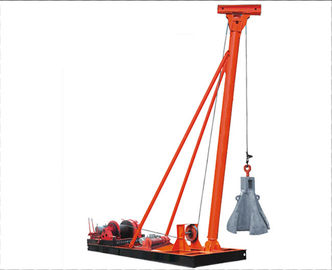 China Punching Hammer Pile Driver Machine for Pile Foundation Construction factory