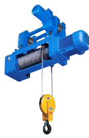 China Quadruple Hook OEM Standard Headroom Trolley Electric Wire Hoist SH Type 1/2 Fall factory