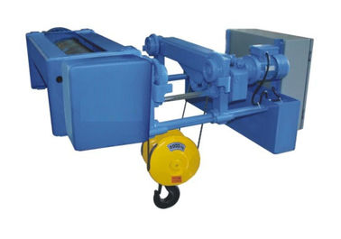 China Special Alloy Steel Wire Rope Hoists WHL - C Two Drum Bucket Electrical Low Headroom factory