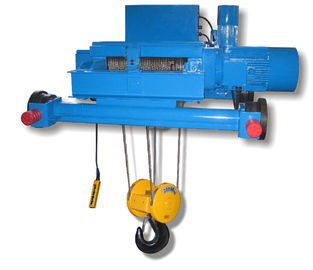 China Light Duty Double Girder Electric Steel Wire Rope Hoists SH Light Type Durable distributor