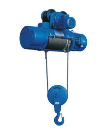 China Load Chain Monorail Hoist Design Wire Rope Electric Hoist CD1 & MD1 Series factory