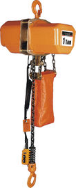 China Energy-saving Motor Solid Chain Bucket Electric Chain Hoists For Heavy Duty Industry distributor