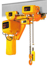 China Lifting Height 6-8m Low Headroom 3 Ton Electric Chain Hoists EHK­-L Type distributor