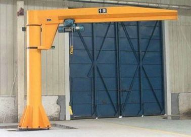 China BZD - 7t Free Standing Electric Jib Crane Use For Manufacture , Assembly Plant distributor