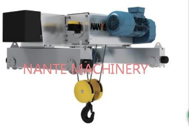China NHA - D 5 Tons Industrial Low Headroom Electric Hoist With Wire Rope factory