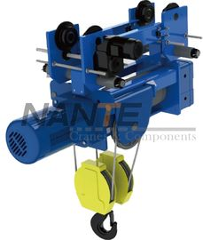 China High Effciency Steel Electric Wire Rope Hoist 2 Ton For 6-30M Lifting Height factory