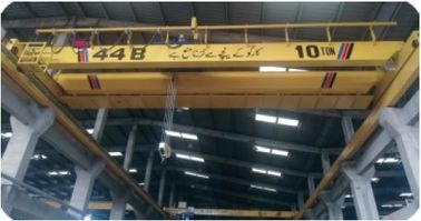 China Industrial Double Girder Overhead Travelling Crane Hoist Iso Certification distributor