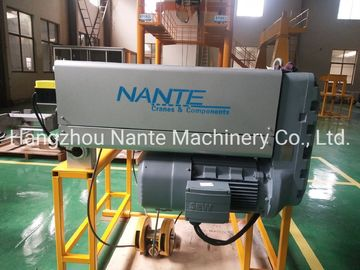 China 10 T Electric Low Headroom Hoist Double Girder Wire Rope Pulling Hoist factory