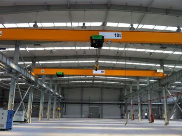 China Industrial Single Girder Overhead Cranes With Electric Hoist Trolley factory