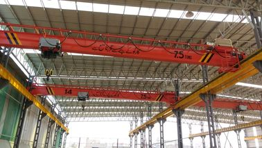 China Single Girder Low headroom Hoist Crane Warehouse Specialized 7.5ton Span 20m factory
